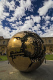Pomodoro sphere vatican city Royalty Free Stock Image