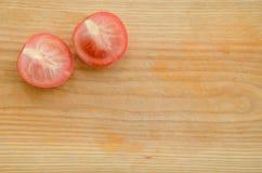 Pomodoro tagliato Fotografie Stock Libere da Diritti