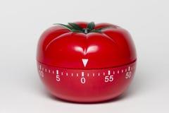 Pomodoro technique. Pomodoro (tomato) technique is a study method that helps avoiding procrastination using a kitchen timer Royalty Free Stock Photography