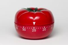 Pomodoro technique. Pomodoro (tomato) technique is a study method that helps avoiding procrastination using a kitchen timer Royalty Free Stock Image