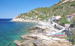 Pomonte, Elba-Insel, Italien stockfoto