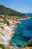 Pomonte Isola d'Elba (Italy) Stock Photos