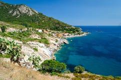 Pomonte (Isola d'Elba Italy) Stock Photography
