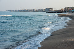 Pomorie - A City On The Black Sea In Bulgaria Stock Images
