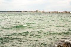 Pomorie Bay, Bulgaria Royalty Free Stock Images