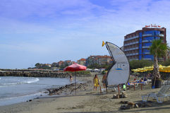 Pomorie beach Stock Photo