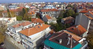 Pomorie is an old town on a peninsula in Bulgaria Stock Photography
