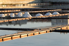 Pomorie salt lake Stock Photos