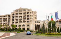 Pomoriets hotel in Burgas, Bulgaria Stock Images