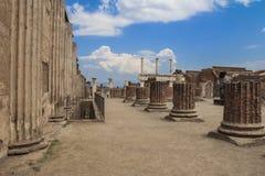 Pompéi, Italie Images libres de droits