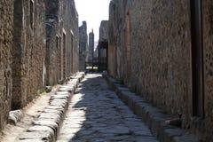 Pompéi ruine la rue images stock