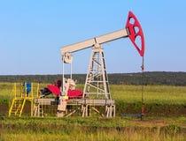 Pomp slingerende olie Royalty-vrije Stock Foto