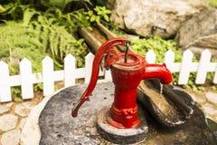 Pompa ad acqua fotografie stock libere da diritti