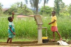 Pompa ad acqua Immagine Stock