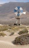 Pompa ad acqua del vento Fotografia Stock Libera da Diritti