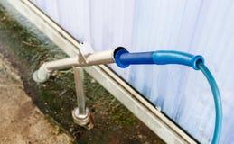 Pompa ad alta pressione dello spruzzatore dell'acqua ad autolavaggio Immagine Stock