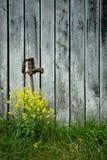 Pompa al lato del granaio Fotografie Stock