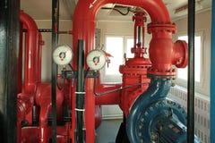 Pompa antincendio. fotografia stock libera da diritti