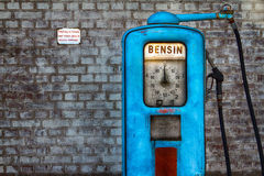 pompa benzynowa światła Obrazy Royalty Free