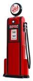 pompa benzynowa 1950 Zdjęcie Royalty Free