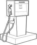 pompa benzynowa royalty ilustracja