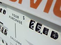 pompa benzynowa Zdjęcia Royalty Free
