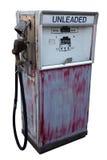 pompa benzynowa porzuconą obraz stock
