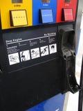pompa benzynowa zbliżenie Obraz Royalty Free