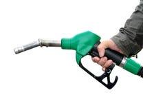 Pompa del carburante fotografia stock libera da diritti