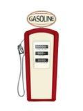 Pompa del carburante d'annata Immagine Stock