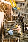 Pompa del cemento Immagini Stock