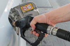 Pompa del combustible fotos de archivo