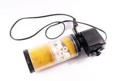 Pompa del filtrante dell'acquario Fotografia Stock Libera da Diritti