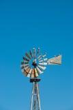 Pompa del mulino a vento Fotografie Stock Libere da Diritti