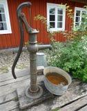 Pompa del pozzo d'acqua Fotografia Stock