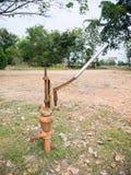 Pompa del pugno di ferro Fotografie Stock