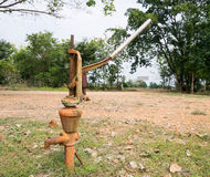 Pompa del pugno di ferro Fotografia Stock