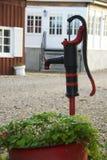 Pompa dell'acqua di pozzo Fotografia Stock
