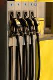 Pompa di benzina Fotografie Stock