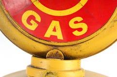 Pompa di benzina Fotografia Stock Libera da Diritti