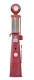 Pompa di benzina isolata oggetto d'antiquariato Fotografie Stock