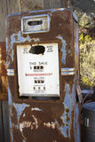 Pompa di gas antica Fotografia Stock Libera da Diritti