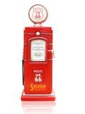 Pompa di gas c fotografia stock