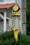 Pompa di gas dell'annata Fotografia Stock