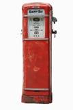 Pompa di gas dell'annata su bianco Fotografia Stock Libera da Diritti