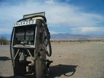 pompa di gas secca in su Fotografie Stock