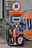 Pompa di gas su ordinazione a Utica, Michigan Fotografie Stock