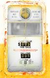 Pompa di gas variopinta dell'annata Fotografia Stock Libera da Diritti