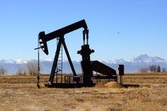 Pompa di olio di Colorado Fotografia Stock