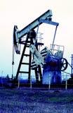 Pompa di olio industriale fotografia stock